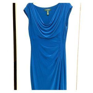 Royal Blue Ralph Lauren dress